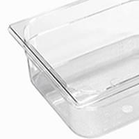 Bacs gastronormes en copolyester transparent