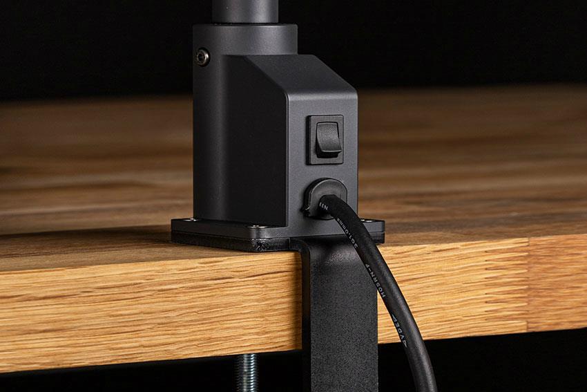 Lampe chauffante autonome avec pince 250 W