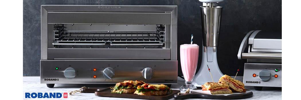 Grille-pain max avec minuterie pour les cafés et brasseries