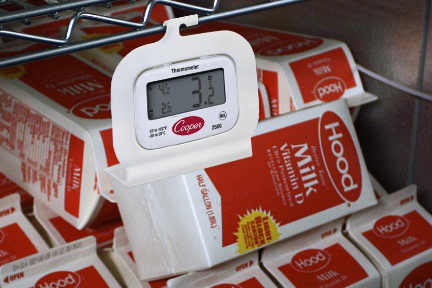 Thermomètre numérique pour réfrigérateur et congélateur