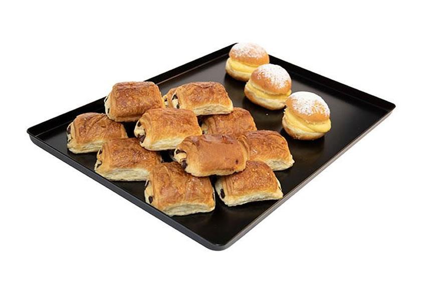 Plateau aluminium pour présentation boulangerie