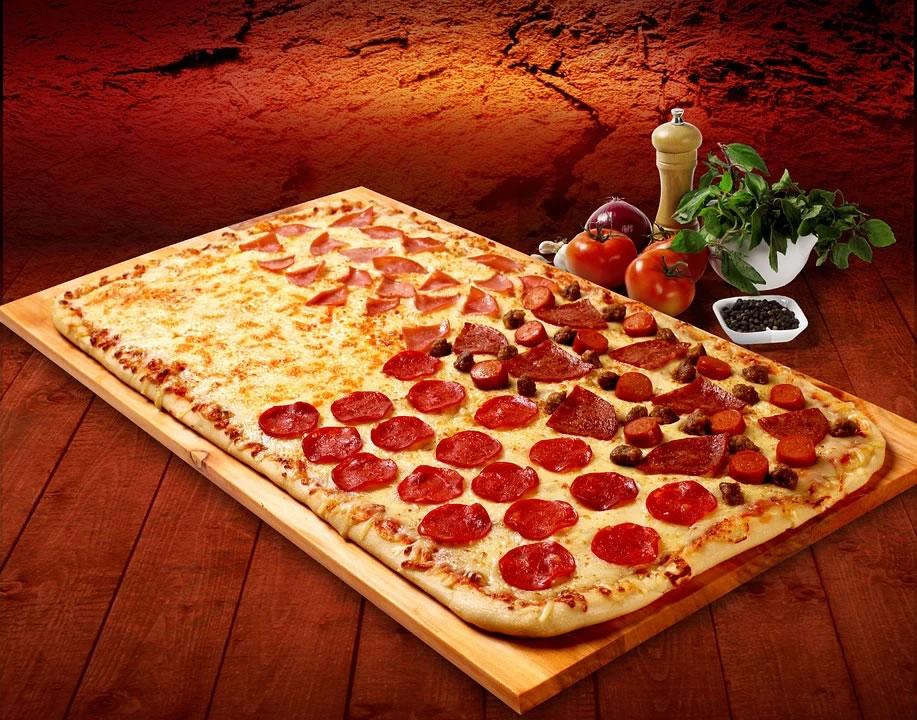 Grille à pizza rectangulaire : comment réaliser une pizza rectangulaire