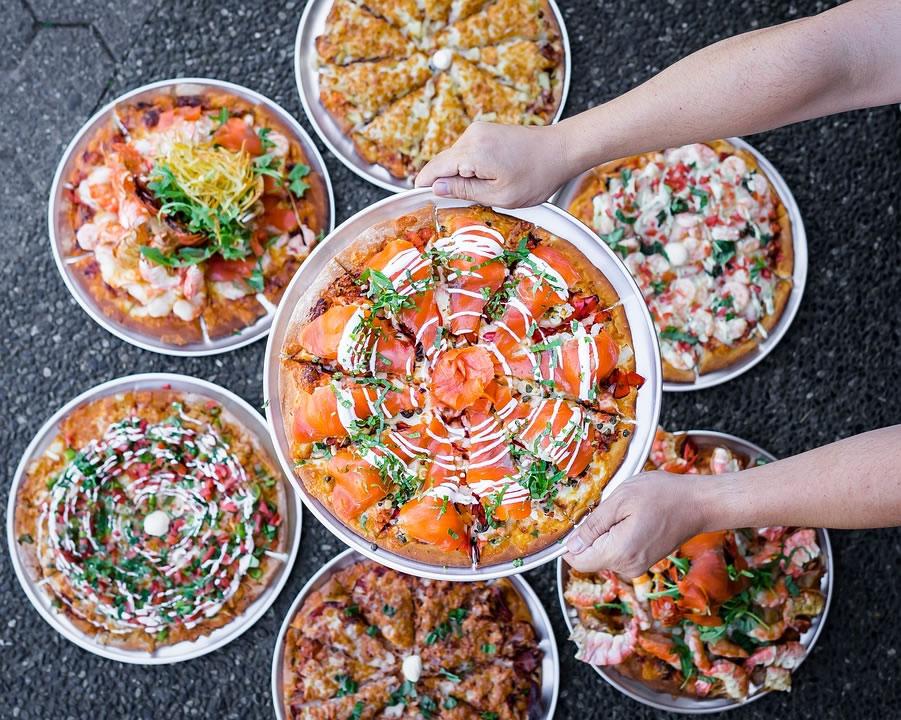 Grilles à pizza de haute qualité pour usage professionnel